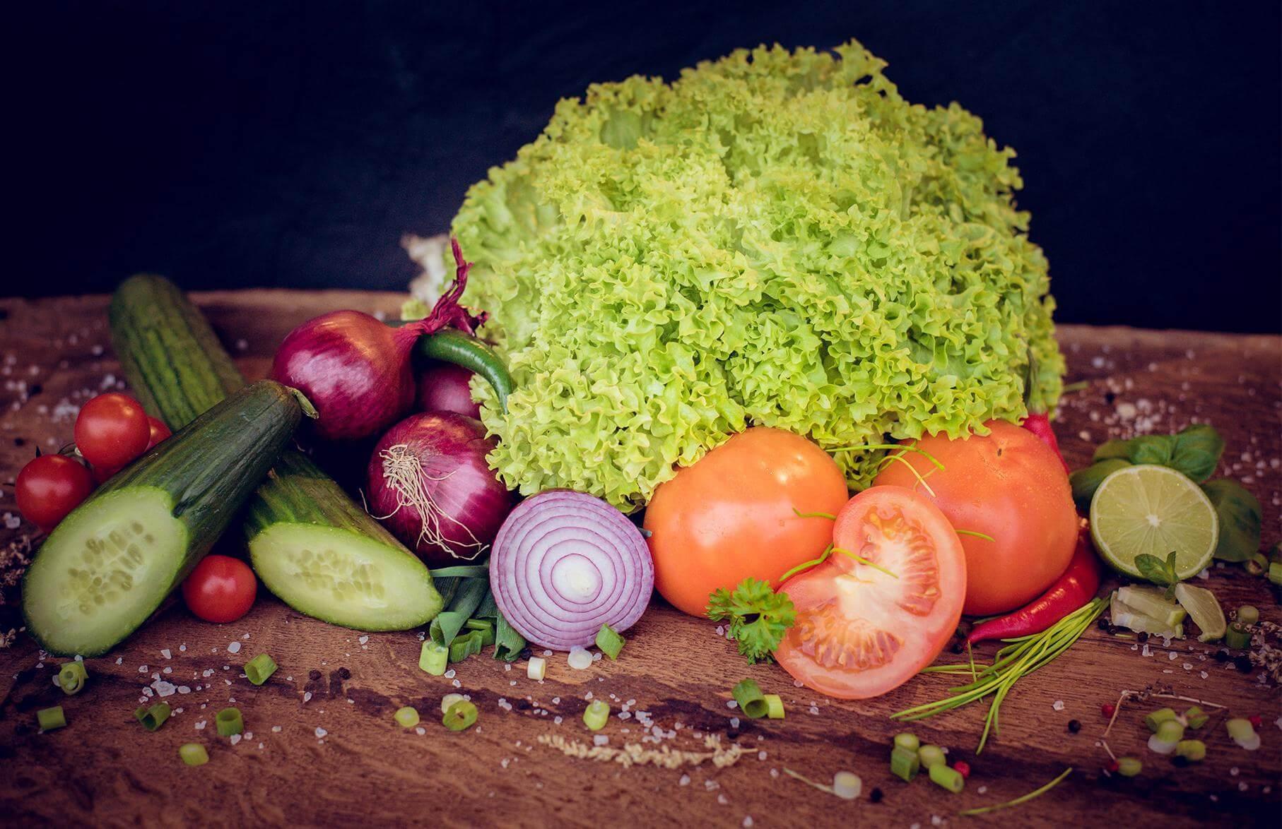 Gemüse bei Lieblingsburger