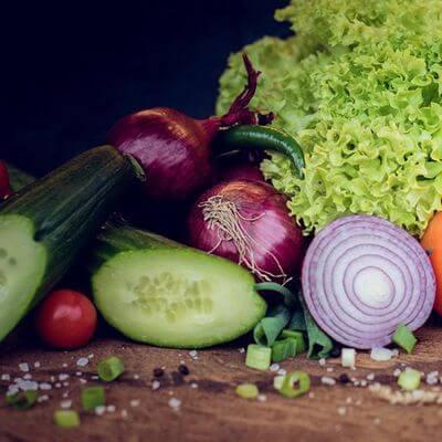 Frische regionale Zutaten Gemüse aus der Region Lieblingsburger Betriebsfeier Catering Foodtruck Streetfood
